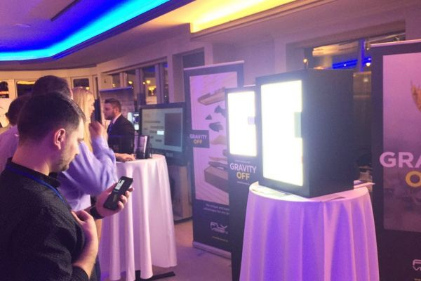 Flyvision auf dem Budapest Business Party Schiff